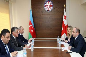 Ambassador of Azerbaijan to Georgia meets with Georgia's Business Ombudsman