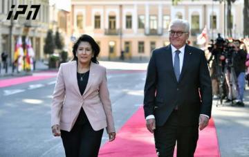 Georgian and German Presidents met