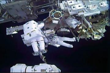 NASA kosmonavtları BKS-da uğurlu əməliyyat keçirib
