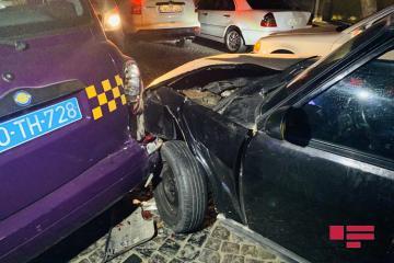 В результате ДТП в Баку пострадал водитель  - [color=red]ФОТО[/color]
