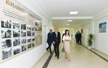 President Ilham Aliyev inaugurated Gobu Park-2 residential complex for IDPs in Garadagh district - UPDATED