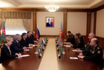 Russian Chief Military Prosecutor is on a visit to Azerbaijan