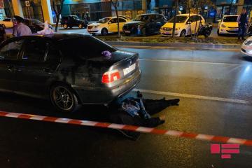 В Баку BMW сбил насмерть мужчину - [color=red]ФОТО[/color]