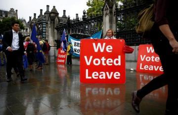 "EU tells British PM Johnson to stop playing ""stupid"" Brexit blame game"