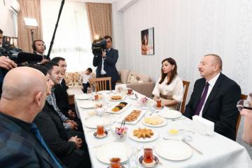 """Prezident İlham Əliyev: """"Ərazi bütövlüyümüzlə bağlı heç bir kompromisdən söhbət gedə bilməz"""""""