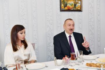 Ильхам Алиев: Я сказал это в прямом эфире, в России, и это услышал весь мир