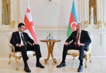 Prezident İlham Əliyev Gürcüstanın Baş Nazirini qəbul edib