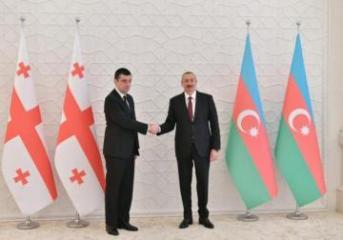 Azerbaijani President receives Georgian PM