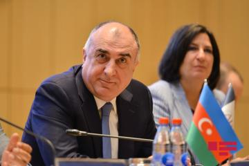 "Elmar Mammadyarov: ""Projects initiated by Azerbaijan serve to strengthen the economic security in the region"""