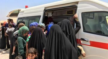 В Ираке автобус с иранскими паломниками попал в ДТП