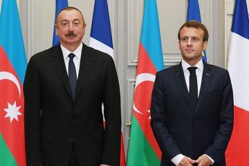 Emmanuel Makron Azərbaycan Prezidentindən dəstək istəyib