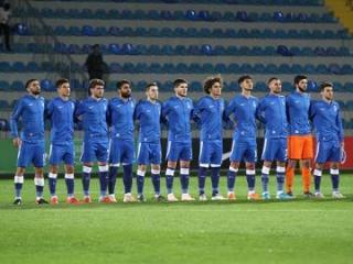 Сборная Азербайджана разгромлена во Франции