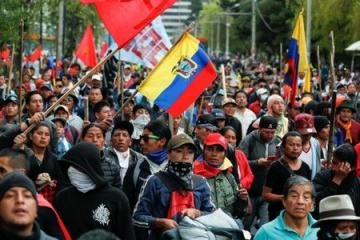 Ecuador's President to reconsider decree cancelling fuel subsidies that caused protests