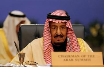 Saudi king approves U.S. military deployment
