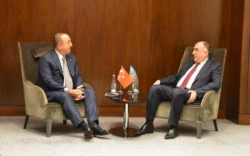 Azerbaijani FM meets with Turkish counterpart