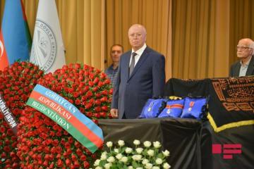 Завершилась церемония прощания с академиком Васимом Мамедалиевым