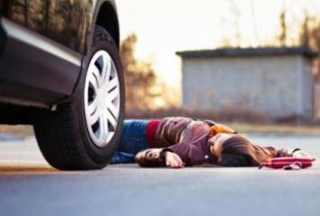 В Сумгайыте 16-летнюю девушку сбила машина