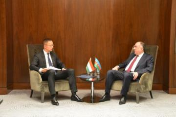Azerbaijani and Hungarian Foreign Ministers discus Syrian conflict