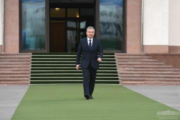 President of Uzbekistan starts a visit to Azerbaijan