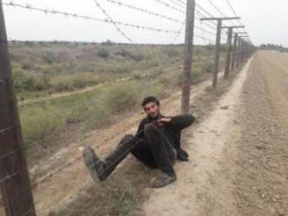 На азербайджано-иранской границе произошел инцидент, ранен пограничник