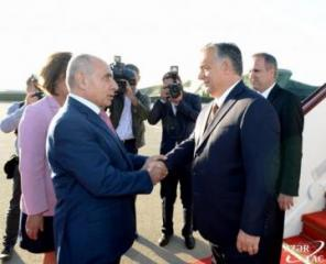 Hungarian PM Viktor Orbán arrives in Azerbaijan