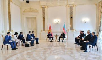 Prezident İlham Əliyevin Qırğızıstan Prezidenti ilə görüşü olub - [color=red]YENİLƏNİB[/color]