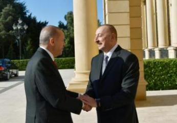 Президент Ильхам Алиев встретился с Эрдоганом