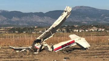 Civil trainer aircraft crashes in southern Turkey's Antalya