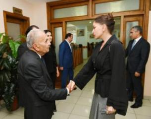Birinci vitse-prezident Mehriban Əliyeva Vasim Məmmədəliyevin hüzr mərasimində iştirak edib