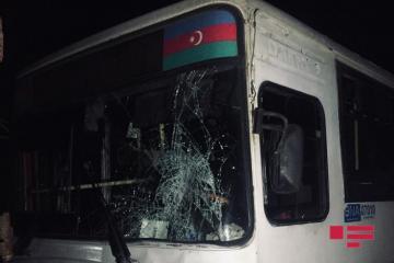 В Баку автобус сбил женщину