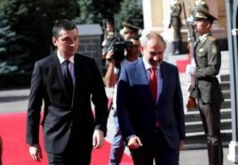 Georgian Prime Minister visits Armenia