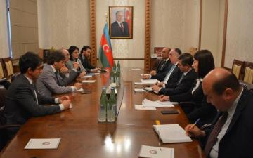 Elmar Mammadyarov met with President of Foreign Affairs Committee of Senate of the Republic of Italy