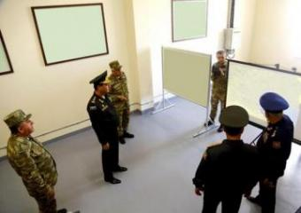 Azerbaijan Defense Minister took part in the opening of the Air Force new Radar Station Control Point