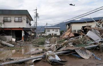 В результате удара тайфуна в Японии серьезно пострадали заводы Hitachi и Panasonic