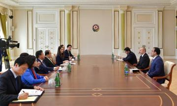 President Ilham Aliyev received delegation led by Speaker of Republic of Korea National Assembly
