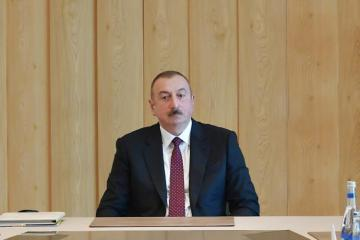 "Azerbaijani President: ""When appointing Ali Asadov, I gave him many responsibilities. I set the task of carrying out reforms, including personnel reforms..."""