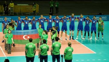 Сборная Азербайджана сохранила свою позицию в рейтинг-листе FİVB