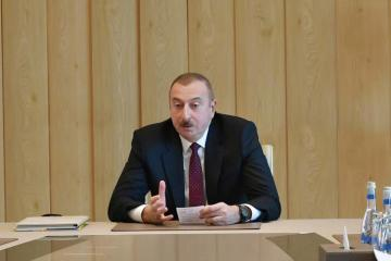 "Azerbaijani President: ""The Davos World Economic Forum's report demonstrates that the reforms in Azerbaijan are consistent"""