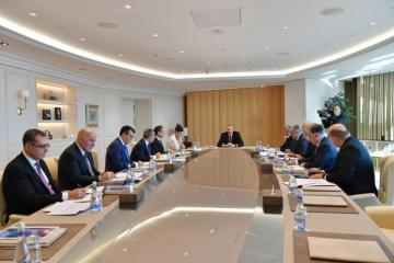 "President Aliyev: ""We have the determination to increase the minimum wage and the minimum pension in the future, and the opportunities must be consistent with this"""