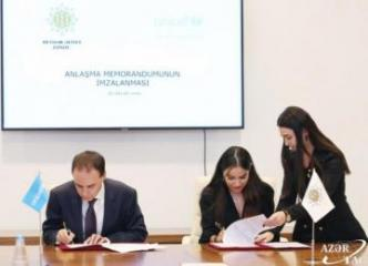Heydar Aliyev Foundation, UNICEF sign MoU