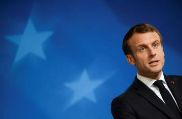 Macron says opposes Brexit extension if UK parliament rejects deal