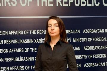 "Leyla Abdullayeva: ""We have repeatedly witnessed Armenia's  such insolvent and ridiculous statements"""