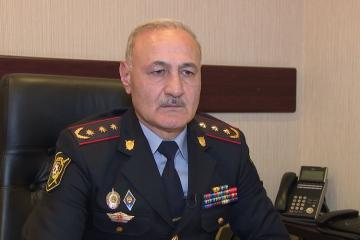"Head of Public Security Department of Baku Police: ""Illegal rally attempts determinedly prevented, there are detained persons"""