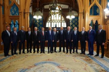 Лавров встретился с послами государств-участников СНГ