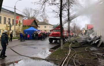 Seven people, including 5 children killed in Russian residential fire