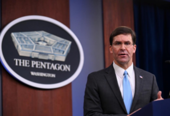 All U.S. troops withdrawing from Syria expected to go to Iraq: Pentagon chief