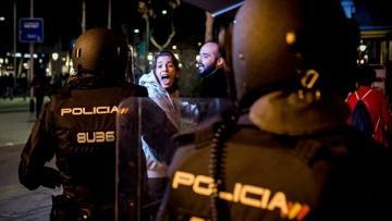 В Мадриде произошли столкновения между протестующими и полицией