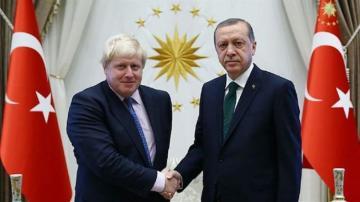 Эрдоган и Джонсон обсудили приостановку турецкой операции в Сирии