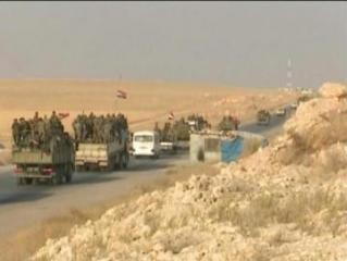 US troops cross into Iraq from Syria