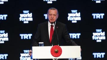 "Erdogan: ""Turkey has never sat, will not sit at table with any terrorist group"""